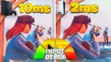 I Tested The PS4 vs PS5 *INPUT DELAY* in Fortnite (PS5 Response Time & Input Lag Test)