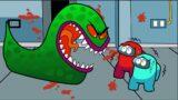 IMPOSTOR VS LICKING MONSTER (Among Us Animation)