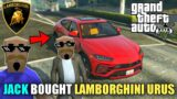 JACK BOUGHT LAMBORGHINI URUS | GTA V GAMEPLAY | Tecnoji Gamer