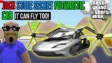 JACK STOLE FUTURISTIC SECRET CAR   Sasti GTA V   Tecnoji Gamer