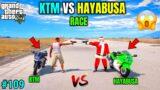 KTM VS HAYABUSA RACE | TECHNO GAMERZ | GTA V GAMEPLAY #109
