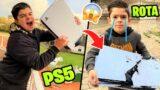 LE ROMP0 LA PS5 A MI HERMANO!!! SE ENFADA MUCHO