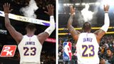 LEBRON JAMES SIGNATURE MOVES RECREATED NBA 2K21 NEXT GEN! (PS5/XBOX SERIES X)