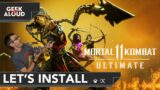 Let's Install – Mortal Kombat 11 Ultimate [Xbox Series X]