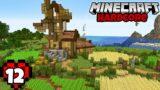 Let's Play Minecraft Hardcore | Windmill Farm
