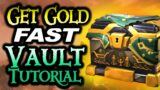 MAKE GOLD FAST VAULT TUTORIAL // SEA OF THIEVES – Part 1 of how to make gold in Sea of Thieves