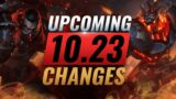 MASSIVE CHANGES: New Buffs & REWORKS Coming in PRESEASON Patch 10.23 – League of Legends