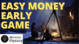MEDIEVAL DYNASTY – How to make FAST EASY money early game | Tutorial | New Player Guide