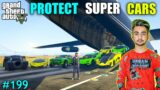 MICHAEL PROTECT SUPER CARS   CAN WE HEIST DIAMONDS FROM ISLAND   GTA V GAMEPLAY #199