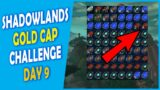 Making BIG Gold with NEW Methods | The Shadowlands Gold Cap Challenge | Day 9