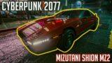 Mizutani Shion MZ2 (2060) Cyberpunk 2077 Car Presentation