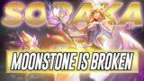 Moonstone Soraka is BROKEN | Aphromoo | League of Legends