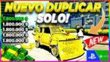 "NUEVOO! – DUPLICAR COCHES ""SOLO"" SIN AYUDA – SUPER MASIVO – MILLONES FACIL – GTA V ONLINE – PS4/XBOX"
