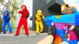 Nerf War: AMONG US (Real Life)