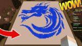 ONLY WATER CHALLENGE (Minecraft Build Battle)