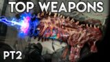 OUTRIDERS- TOP CRAZY WEAPONS! Legendary Voodoo Cursed Assult Rifle!