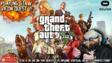 PLAYING GTA V VR ON QUEST 2 // GTA V VR Gameplay // GTA V VR Oculus Quest 2 Gameplay