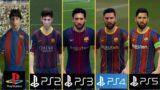 PS1 vs PS2 vs PS3 vs PS4 vs PS5 Graphics and Gameplay Comparison (FIFA Series)