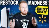 PS5 BEST BUY RESTOCK WAS CRAZY!   Walmart PS5 Surprise Restock Wave!   PS5 Restock Who To Watch Next