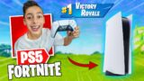 Playing Fortnite with PS5 Controller! **EPIC**   Royalty Gaming