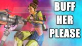 Playing the Worst, F TIER Character in Apex Legends