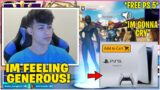 RONALDO Buys New PS 5 For The NICEST KID He Met In SQUAD FILLS After They 1v1 In Creative (Fortnite)