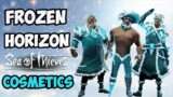 Sea of Thieves: Unlock your Frozen Horizon Cosmetics and more!