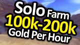 Solo Gold Farm 100,000-200,000g Per Hour Steady | Shadowlands Goldmaking Guide Skinning