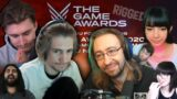 Streamers Reactions to THE LAST OF US winning Game of the Year… | The Game Awards