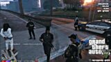 Tee Grizzley First Day Being A Cop On GTA V RP