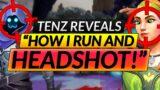 "Tenz: ""HOW I RUN AND HEADSHOT EVERYONE"" – INSANE AIM TIPS – Valorant Pro Guide"