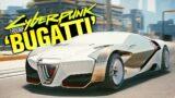 The Fastest 1600HP Hypercar in Cyberpunk 2077? (Bugatti Chiron)