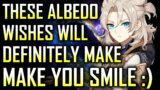 These Albedo Wishes will make YOU SMILE :)   Genshin Impact Summons