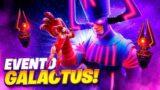 ULTIMAS HORAS ANTES DEL EVENTO FINAL *GALACTUS* DE FORTNITE!!