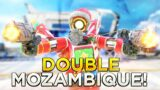 Using ONLY 2 MOZAMBIQUES… This was a mistake (Apex Legends)