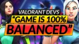 """Valorant Devs: """"The Game is Perfectly 100% BALANCED BTW"""" – CRAZY Changes – Update Guide"""