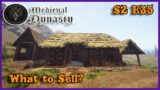 WHAT TO SELL | Let's Play Challenge (Medieval Dynasty Gameplay) S2 E35