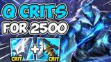 WOW! VARUS Q LEGIT CRITS FOR NUCLEAR DAMAGE (SNIPER VARUS) – League of Legends
