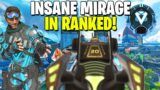 We Got An INSANE Mirage As Our Teammate and WON! (Apex Legends Crossplay)