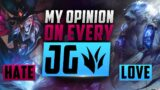 What I LOVE/HATE About Every Jungler From A-Z | League of Legends Best Junglers Season 11