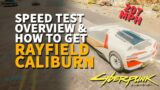 White Rayfield Caliburn Cyberpunk 2077 Buy Vehicle Sportscar