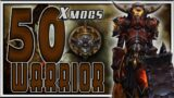 World of Warcraft BFA – 50 Unique Warrior Transmog Sets
