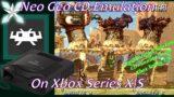 [Xbox Series X|S] Retroarch Neo Geo CD Emulation Setup Guide