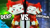 """""""Don't Come Crying"""" Original VS. DERP Version (Minecraft FNAF SL Animation Music Video)"""