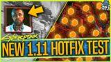1.11 Hotfix Testing – LEGENDARY LOOT RANDOM ROLL FIX & DOWN ON THE STREET FIX? – Cyberpunk 2077