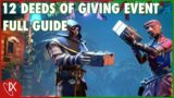 12 Deeds of Giving Event FULL GUIDE – Sea of Thieves – Festival of Giving Update – December 2020