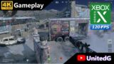 Call of Duty Black Ops Cold War Multiplayer Xbox Series X Gameplay 4K