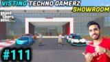 GTA 5 – VISITING TECHNO GAMERZ SHOWROOM   GTA V GAMEPLAY #111   GTA 5 #111 @Techno Gamerz @Mythpat