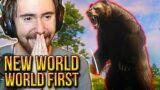 Asmongold WORLD FIRST Boss Kill in New World – Amazon MMORPG | First Gameplay (Beta)