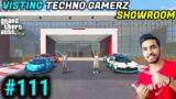 GTA 5 – VISITING TECHNO GAMERZ SHOWROOM | GTA V GAMEPLAY #111  @Techno Gamerz